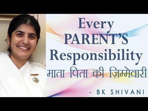 Every PARENT'S Responsibility: Ep 13 Soul Reflections: BK Shivani (English Subtitles) Relationships