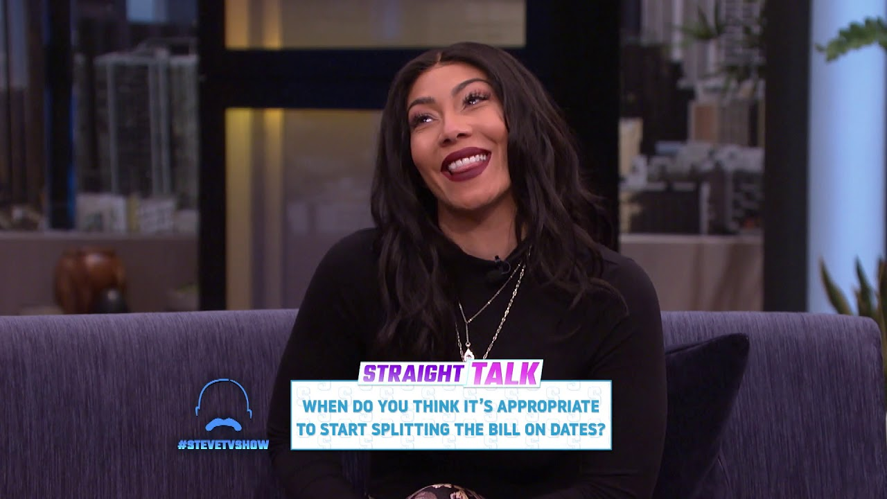 Straight Talk: Splitting the Bill on Dates || STEVE HARVEY Date