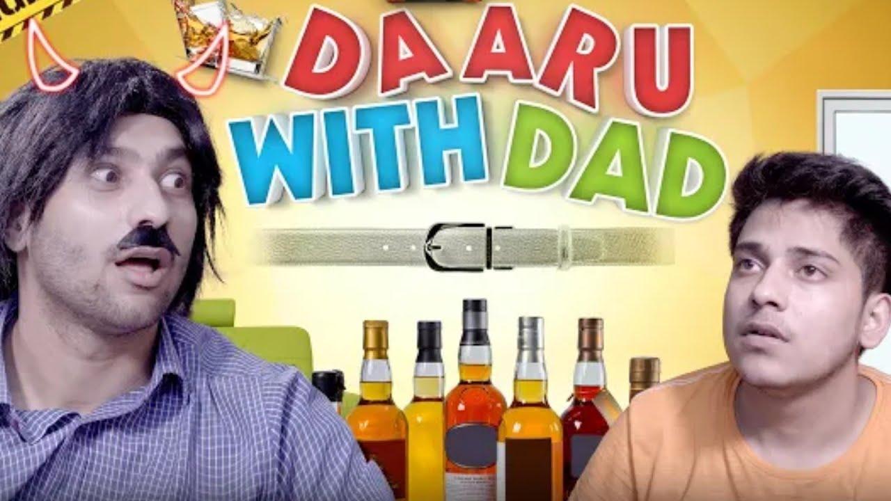 Daaru With Dad   Harsh Beniwal Flirting